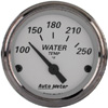 "Autometer American Platinum Short Sweep Electric Water Temperature Gauges  2 1/16"" (52.4mm)"