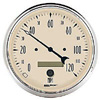 "Autometer Antique  Beige In-Dash Tachs & Speedos Speedometer Elec. Programmable Gauges  5"" (127mm)"