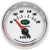 "Autometer NV Short Sweep Electric Voltmeter gauge 2 1/16"" (52.4mm)"