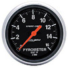 "Autometer Sport Comb Full Sweep Electric Pyrometer Gauge 2 5/8"" (66.7mm)"