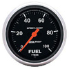 "Autometer Sport Comb Full Sweep Electric Fuel Pressure Gauge 2 5/8"" (66.7mm)"