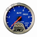 Blitz - Gauge - DC II Series 60mm Blue Pressure Meter