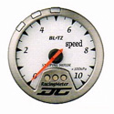 Blitz - Gauge - DC II Series 60mm White Speed/Power Meter