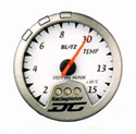 Blitz - Gauge - DC II Series 60mm White Temperature Meter
