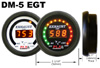 PLX Devices DM-5 Exhaust Gas Temperature Pyro Gauge: Standard Digital Display Module