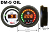 PLX Devices  DM-5 Oil Temperature Gauge: Standard Digital Display Module