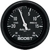 "Autometer Autogage Mechanical Boost / Vacuum gauge 2 5/8"" (66.7mm)"