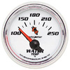 "Autometer C2 Short Sweep Electric Water Temperature gauge 2 1/16"" (52.4mm)"