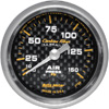"Autometer Carbon Fiber Mechanical Air Pressure gauge 2 1/16"" (52.4mm)"