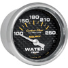"Autometer Carbon Fiber Short Sweep Electric Water Temperature gauge 2 1/16"" (52.4mm)"
