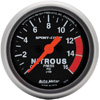 "Autometer Sport Comp Full Sweep Electric Nitrous Pressure Gauge 2 1/16"" (52.4mm)"