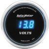 "Autometer Cobalt Digital Voltmeter gauge 2 1/16"" (52.4mm)"