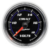 "Autometer Cobalt Full Sweep Electric Voltmeter gauge 2 1/16"" (52.4mm)"