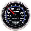 "Autometer Cobalt Mechanical Boost / Vacuum gauge 2 1/16"" (52.4mm)"