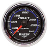 "Autometer Cobalt Mechanical Water Temperature gauge 2 1/16"" (52.4mm)"
