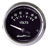 "Autometer Cobra hort Sweep Electric Voltmeter gauge 2 1/16"" (52.4mm)"