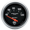 "Autometer Metric Short Sweep Electric Oil Temperature gauge 2 5/8"" (66.7mm)"