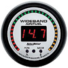 "Autometer Phantom Digital Wideband Air/Fuel Ratio gauge 2 1/16"" (52.4mm)"