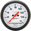 "Autometer Phantom Full Sweep Electric Pyrometer gauge 2 5/8"" (66.7mm)"