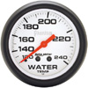 "Autometer Phantom Mechanical Water Temperature gauge 2 5/8"" (66.7mm)"