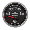 "Autometer Sport Comp II Short Sweep Electric Oil Temperature Gauges 2 1/16"" (52.4mm)"