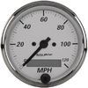 "Autometer American Platinum In-Dash Tachs & Speedos Speedometer Programmable Gauges  3 1/8"" (79.4mm)"