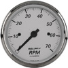 "Autometer American Platinum In-Dash Tachs & Speedos Tachometer Electronic Gauges  3 1/8"" (79.4mm)"